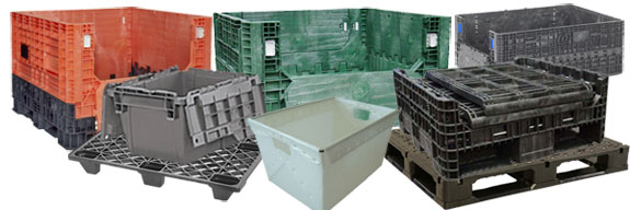 Plastic Containers, Pallets, Pails, Buckets