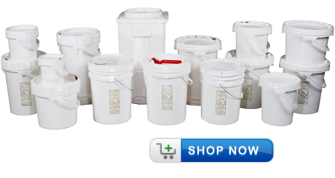 Liquid Containers, Plastic Buckets